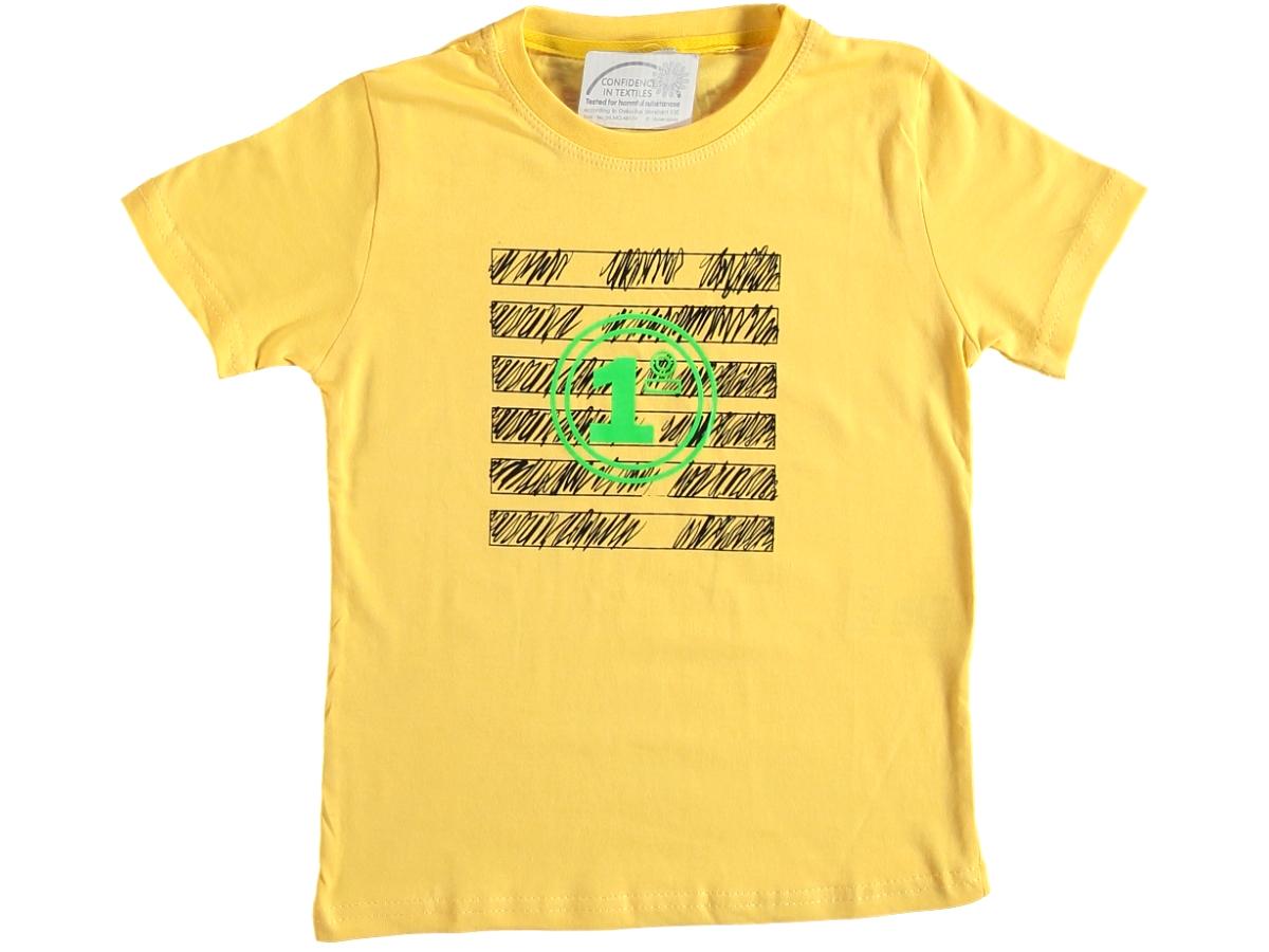 Футболка жёлтая 3/7 лет 324680